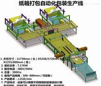 广东厂家定制纸箱包装全自动包装生产线