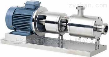 管线式三级高剪切均质乳化泵/在线乳化机