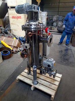 定制碳钢自清洗过滤器性能说明
