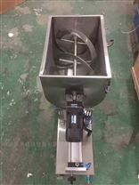 wf中小型食品厂专用卧式搅拌膏体酱类灌装机