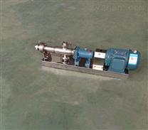 GF型不銹鋼單螺桿泵 醫藥衛生泵
