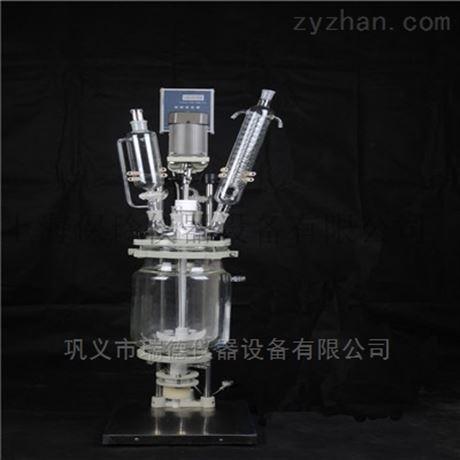 双层玻璃反应釜2L