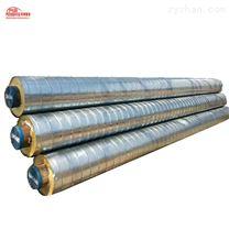 供应大口径架空螺旋镀锌铁皮保温管耐腐蚀
