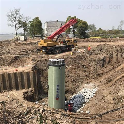 安徽一体化雨水泵站选型