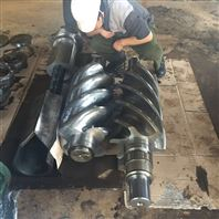 约克工业冷冻螺杆机组大修