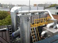 催化燃烧RCO处理叉车机械车喷涂废气过程