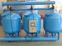 水处理工艺中的浅层多介质过滤器