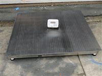 1吨单层不锈钢电子地磅秤
