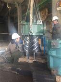 约克压缩机滑阀加载;约克RWF545螺杆机维修