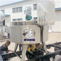 蒸汽夾層鍋廠家 電加熱蒸煮鍋安裝