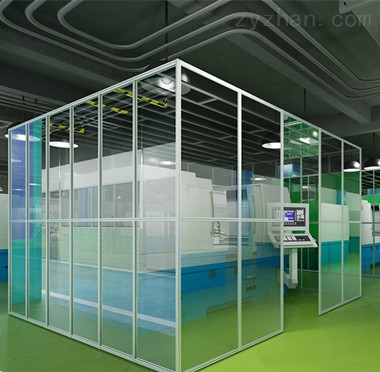 菏泽微生物室净化装修无尘车间洁净棚设计