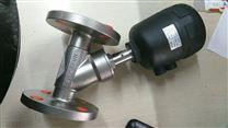 宝德型-气动不锈钢法兰角座阀