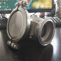 小阻力止回閥|304不銹鋼快裝閥廠家