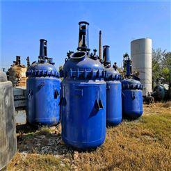 化工厂专用二手5立方搪瓷反应釜