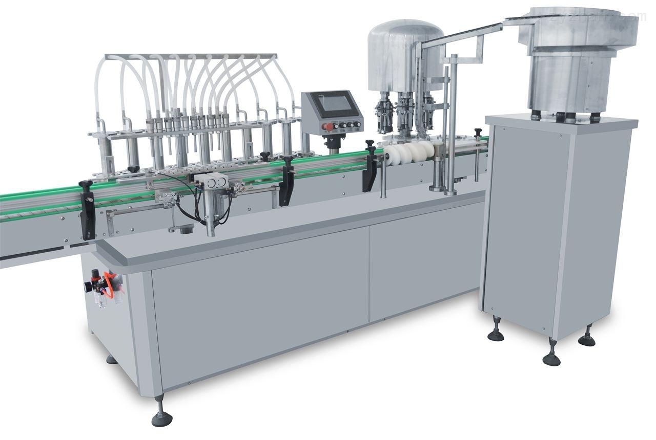 燕窝瓶灌装机生产线
