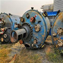 化工厂专用二手10立方搪瓷反应釜