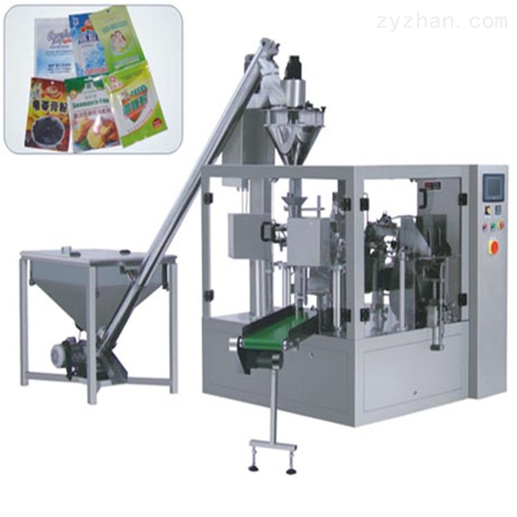 全自动预制袋颗粒坚果食品给袋式定量包装机