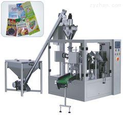 QD-200给袋式核桃坚果补脑食品全自动颗粒包装机