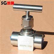 承插焊高压针阀 高温焊接针型阀