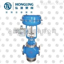 ZJHQ-32气动薄膜三通调节阀,薄膜调节阀,三通调节阀