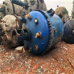 化工厂专用二手3立方搪瓷反应釜