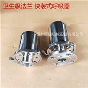 供應不銹鋼活接式 法蘭式 焊接呼吸器