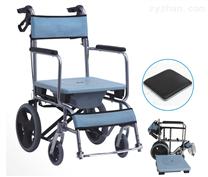 多功能鋁合金座便輪椅