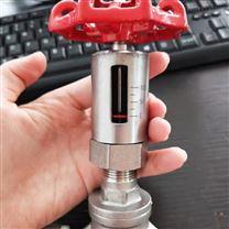 帶刻度304不銹鋼手動流量截止閥 控制閥