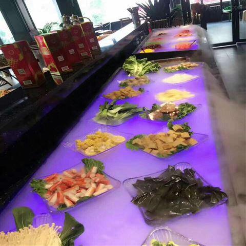 餐饮店展示柜喷雾景观设备 蔬菜保鲜加湿器