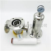 温州厂家卫生级304 316L空气除菌过滤器