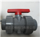 Q41F-10U-PVC手動法蘭球閥