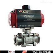 VT锂电池系统用气动快装球阀