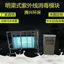 污水处理设备 明渠式紫外线消毒模块
