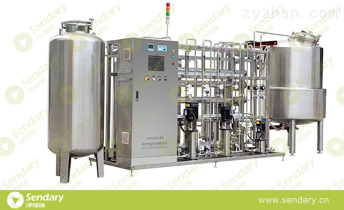 生物制药公司用纯化水制取设备