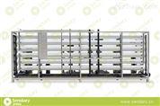 KRP-RO/SA10T型工业水处理系统纯水设备