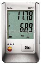 t176T2  外置雙通道溫度記錄儀(帶數顯)