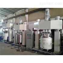 广东脲醛胶反应釜强力分散机玻璃胶生产线