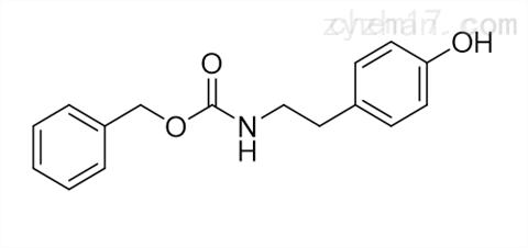 苄基 N-2-(4-羟基苯基)乙基氨基甲酸酯