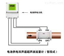 大连海峰管段式电池供电超声波流量计