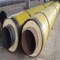 塑套钢预制直埋保温管厂家,聚氨酯黑夹克管
