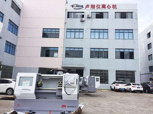 盧湘儀新購兩臺數控機床,以應對高速增長的離心機訂單