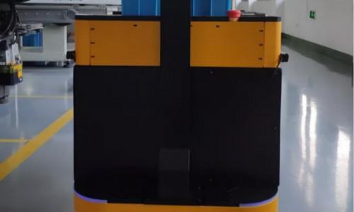 杭州藍芯科技貨物搬運AGV助力實現無人化生產