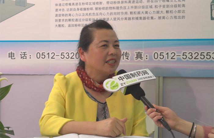 专访苏州金远胜智能装备股份有限公司总经理吴琴秀