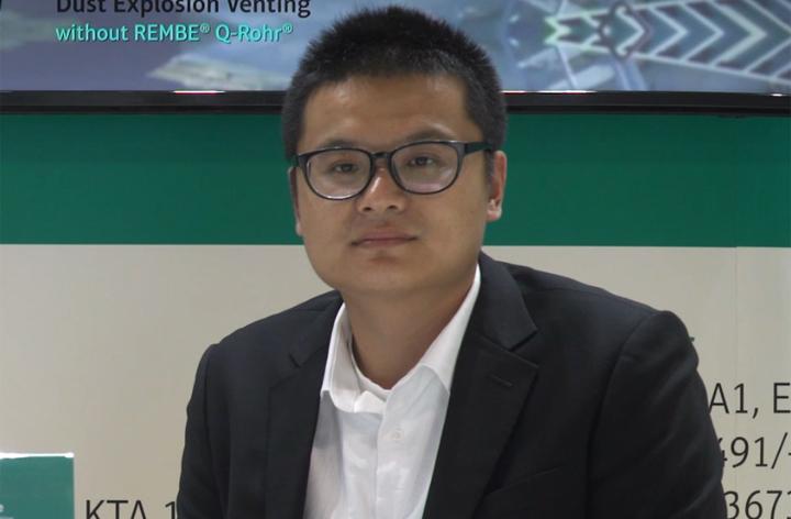 專訪認必安全控制設備貿易(上海)有限公司總經理于偉