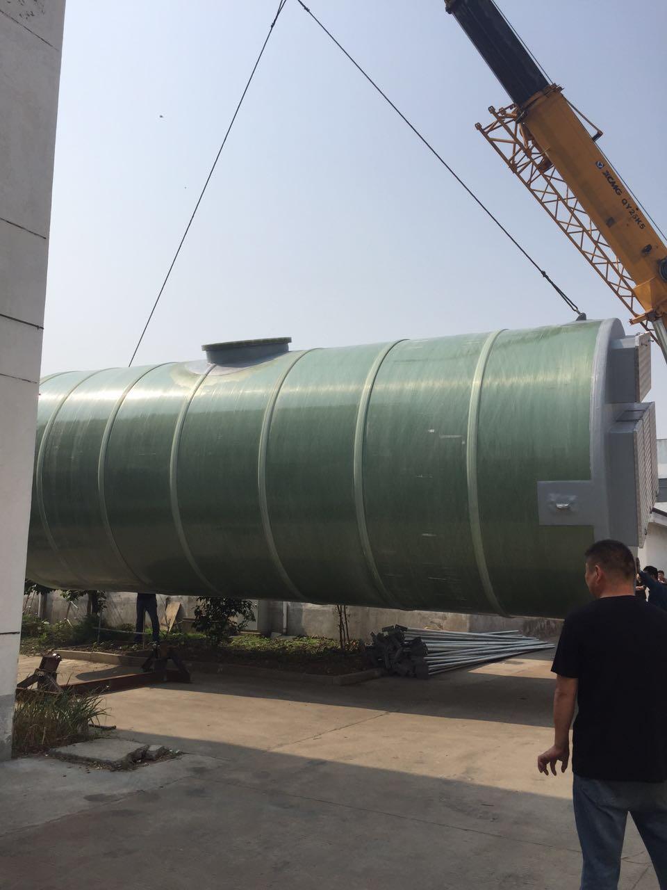 一体化泵站市政污水提升泵站安装五部曲